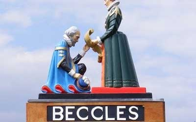 Beccles Sign